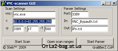 VNC SCANNER GUI LA2-bag.at.ua